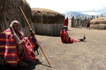 Maasai village