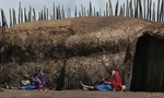 Maasai village 3